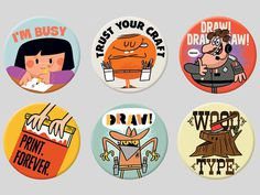 Magnets for the creative professional