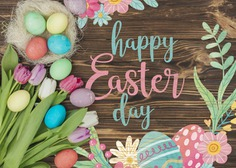 Happy easter day Free Psd. See more inspiration related to Flower, Mockup, Floral, Template, Typography, Spring, Celebration, Happy, Font, Bow, Colorful, Holiday, Mock up, Easter, Plant, Drawing, Religion, Egg, Painting, Calligraphy, Lettering, Traditional, Blossom, Tulip, View, Up, Day, Top, Top view, Cultural, Tradition, Mock, Seasonal and Paschal on Freepik.