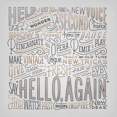 """Hello, Again"" Manifesto — Friends of Type"