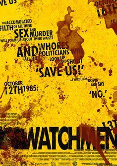 Watchmen #design #watchmen #poster