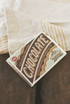 Chocolate Packaging #packaging #graphic design