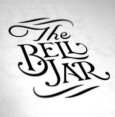 Typeverything.com The Bell Jar by Dan Cassaro. #lettering #dan cassaro
