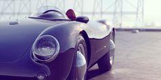 Porsche 550 #porsche #classic #behance #cars