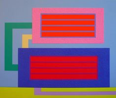 Peter Halley | PICDIT #painting #artist #art