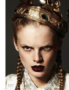 Hanne Gaby Odiele by Michael Schwartz | Professional Photography Blog #fashion #photography #inspiration