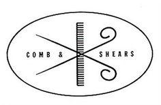 A Swiss Serif #alvin #scissors #comb #lustig #logo