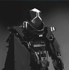 "rhubarbes: "" Mech by Maciej Kuciara. More robots here. """