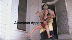 Americal Apparel Leatherface ad