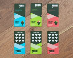 Yoobi Brand #london #food #branding