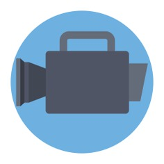 See more icon inspiration related to camera, film, cinema, video camera, movie, video cameras, electronics and technology on Flaticon.