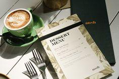 Nosh restaurant corporate design logo logotype branding identity deluxe luxury bar by Darling Visual Communications singapore mindsparkle ma