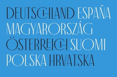 Antiga Typeface #typography #typeface #font #display #artnouveau #ligatures #title #elegant #serif #roman