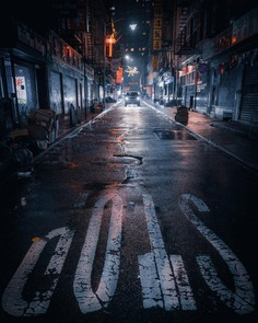 Moody and Cinematic Street Photography by Nicolas Miller