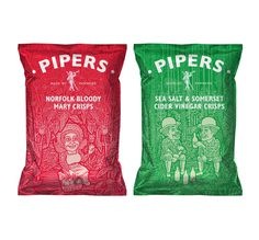 lovely package pipers 1 #packaging #design #product #chips #pipers #crisps
