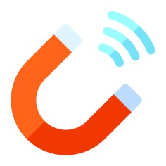 See more icon inspiration related to magnet, Tools and utensils, magnetic, magnetism, physics and wireless on Flaticon.