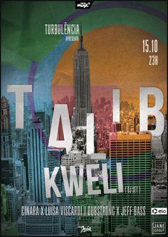 #TalibKweli #poster #typography #city #NY #newyork #collage #design #music #show