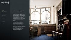 AJHewitt - Web design inspiration from siteInspire #bvncvn