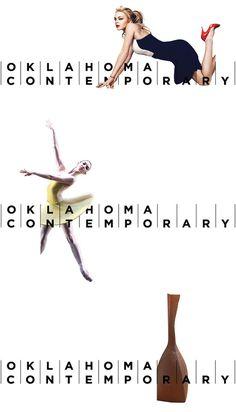 Oklahoma Contemporary Logo and Identity #branding