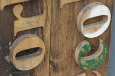 Tumblr #typography #wood #blocks #type #cutout