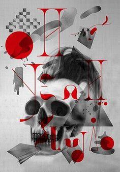 FFFFOUND! #illustration #multiply #poster #typography