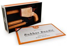 The Rubber Bandit | Andy Mangold #mangold #andy #design #package