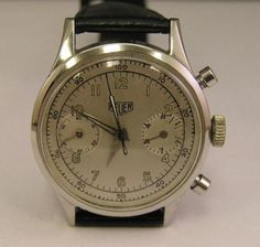 Chronograph Watch #analog #dial #mechanical #piece #time #watches