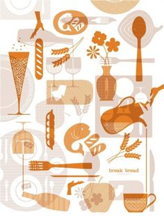 Break Bread Hospitality on the Behance Network #break #bread