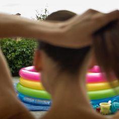 Instagram #hair #pool #model