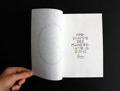 CITÉ DE LA CÉRAMIQUE : ATELIER 25 #colour #typography