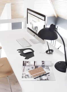 Minimal workspace #home office #workspace #desk #minimal