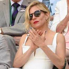 Sienna Miller wearing the Leonard 2 Tortoise at Wimbledon #siennamiller