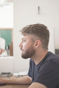 Grain & Gram — The New Gentleman's Journal / Jason Gregory, Designer #hair