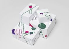 Kokoro & Moi #packaging #fun #pattern #minimal