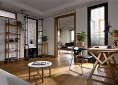 Living Space for a Small Family by Alena Yudina -#decor, #interior, #homedecor