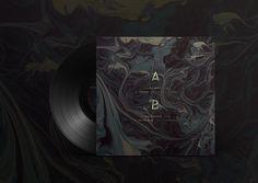 #vinyl #texture #marble #typography