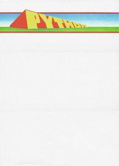 Designerds #monty #python #letterhead