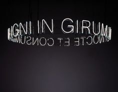 All sizes | In Girum Imus Nocte et Consumimur Igni, 2006 | Flickr - Photo Sharing! #exhibition #inspiration #motto
