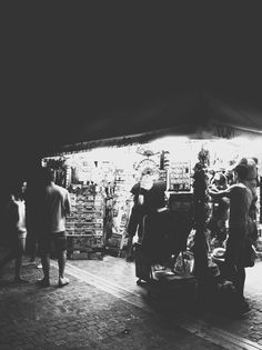 Kiosk. #white #black #people #night #summer #and #light #kiosk #athens