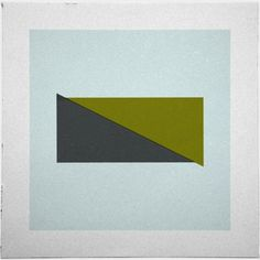 Geometry Daily #rectangle #abstract #geometry #print #geometric #simple #triangle #poster