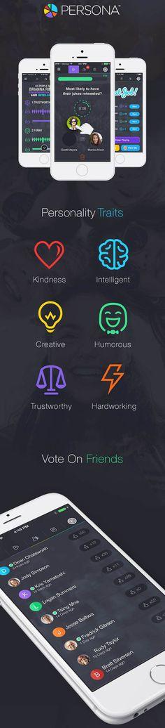 Persona App by Kris Zalameda #web