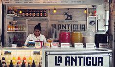 Mexican street food culture Tacombi #interior #design #food #restaurant #mexican #culture
