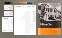 Home4You #branding #stationery