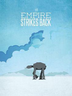 Star Wars Trilogy Minimalist Posters