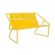 Marigold.jpg Powder-coated Aluminum Frame, Seat and Back