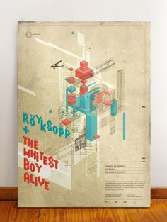Graphic Design on Röyskopp's stuff has always been so good. #print #design #graphic