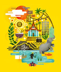 Monocle Thailand #illustration #thailand