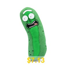 Pickle #Rick #Plush #Doll #Soft #Pillow #Kid #Stuffed #Toy #for #Kids #- #GREEN