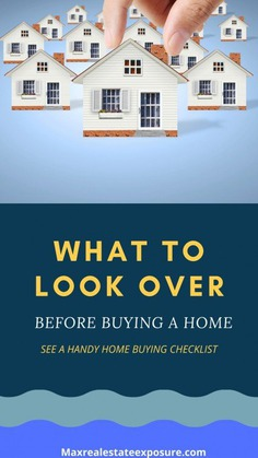 What to Look at Before Buying a House