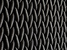 3D Textile With Good Acoustic Isolation - #textile, #design, #fabrics, #patterns