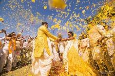 holi inspire pre wedding shoot ideas
